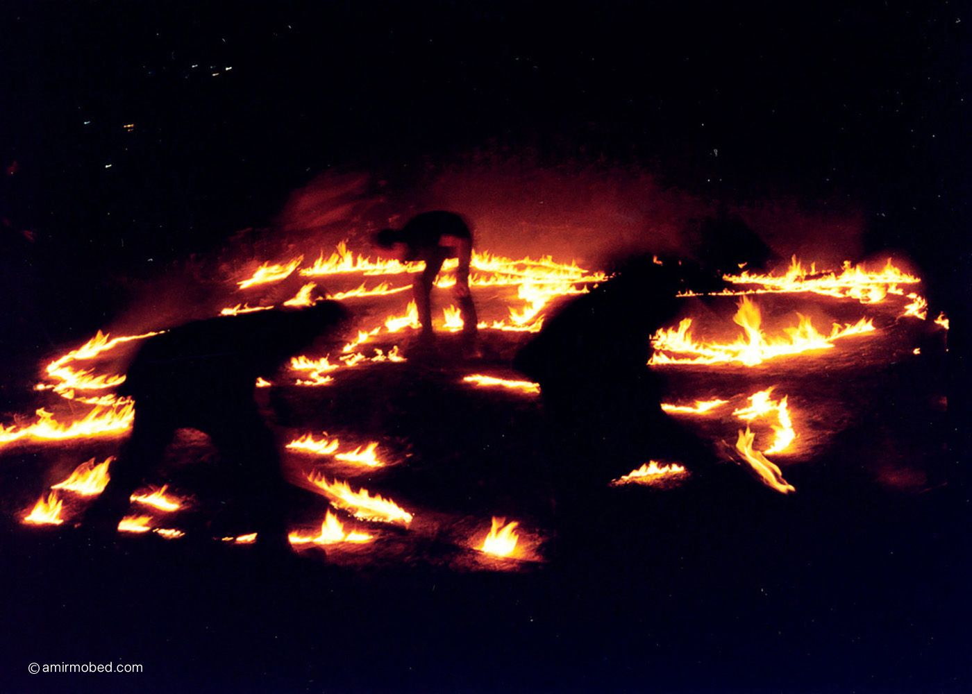 A Performance with Fire, 2003