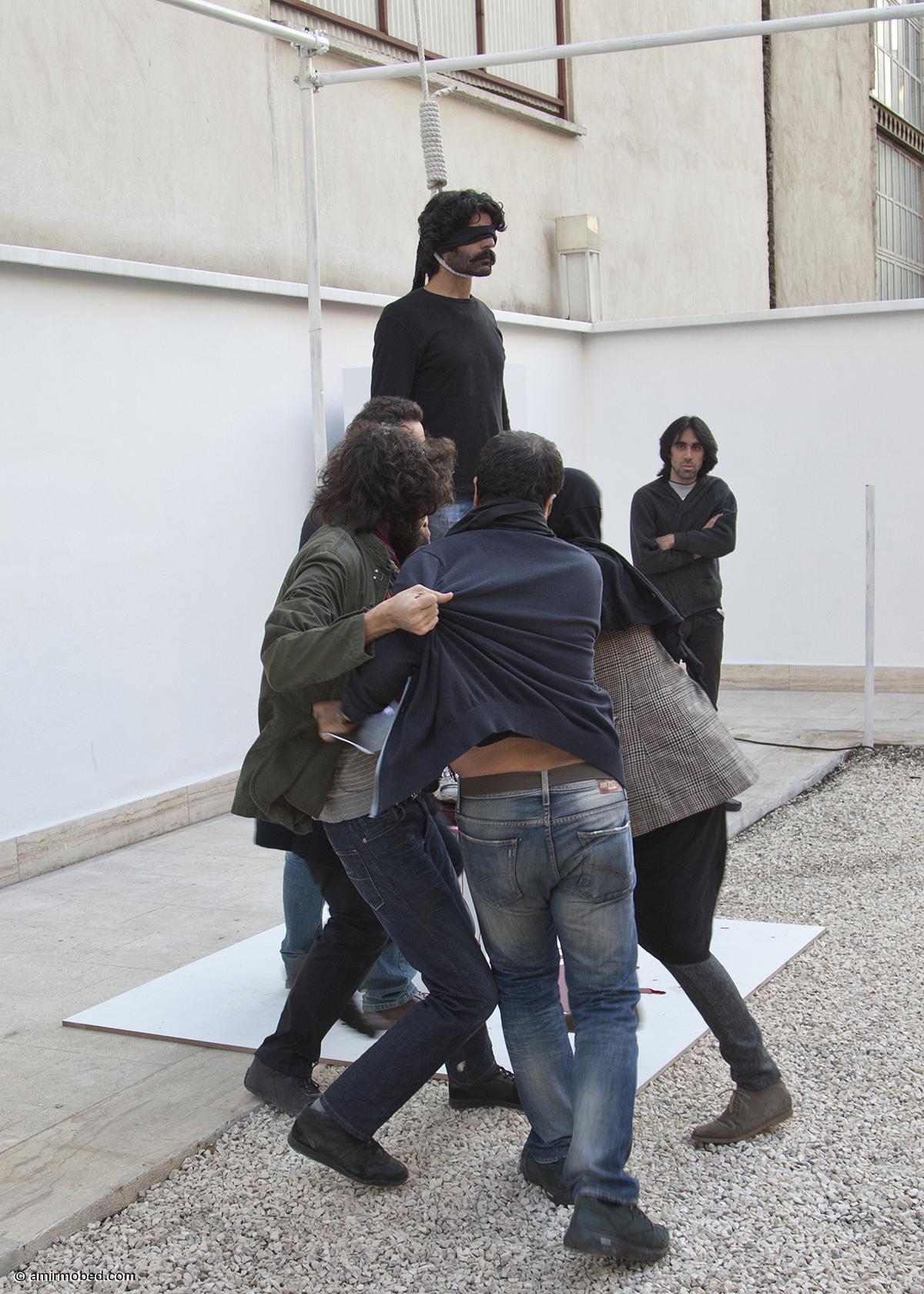 The (killing) Field, 2011, Performance